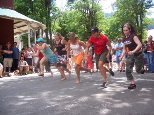Downieville Foot Races