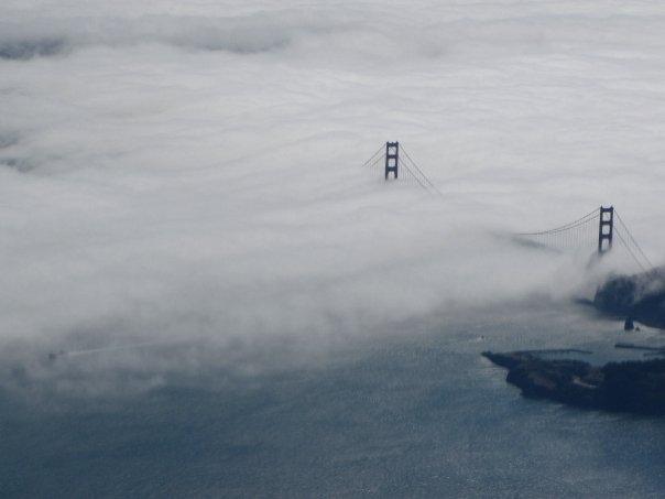 golden gate bridge fog. Golden Gate Bridge fog
