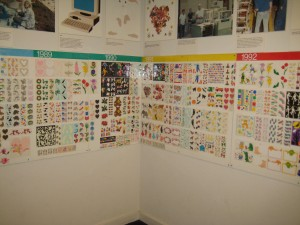 sticker wall of fame