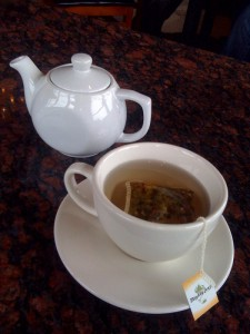 Tea at Cafe Acri