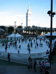 Ice Skating Embarcadero