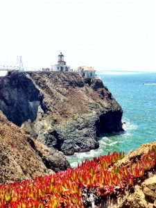 Pt. Bonita Lighthouse view