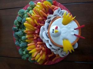 turkey veggie plate