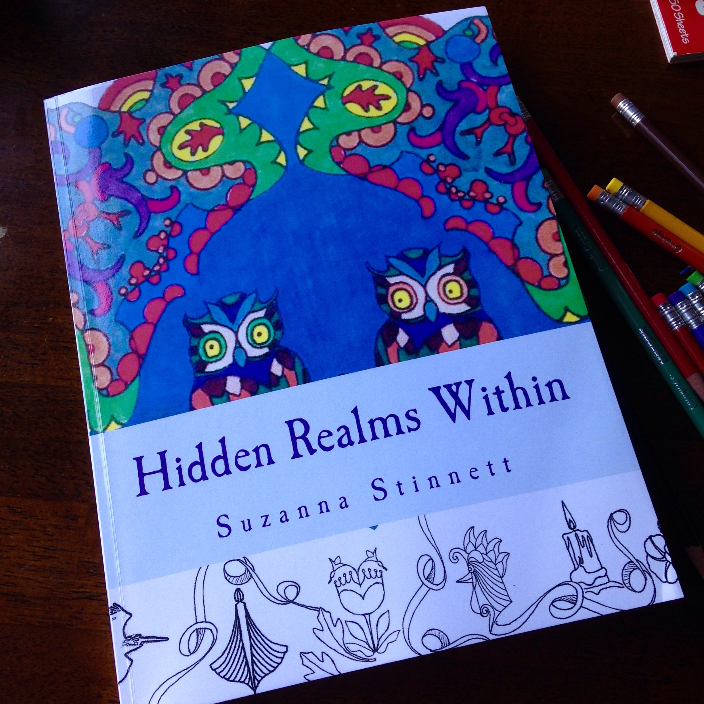 hidden realms coloring book