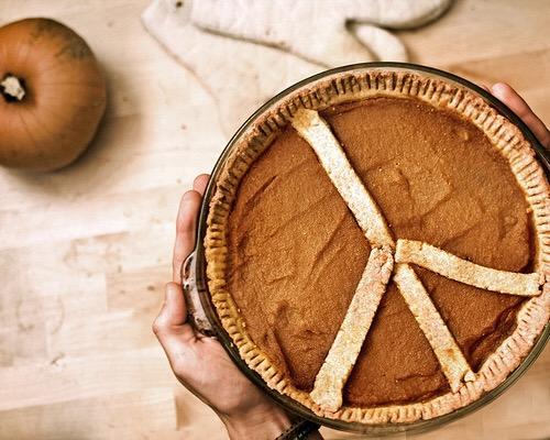 piece pumpkin pie