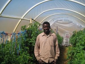 Elijah at farm in Petaluma
