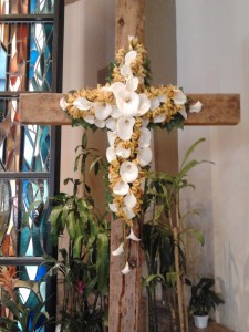 Easter Cross by Nancy Kuhlman