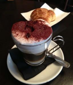 Coffee croissant Paris