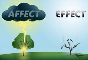 effext vs. affect