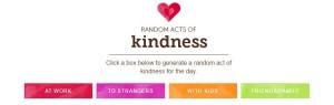 random acts of kindness generator