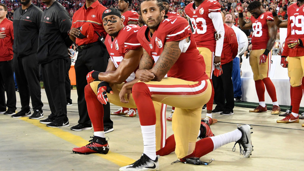 Colin Kaepernick Getty Images